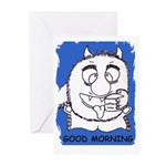 GOOD MORNING birthday Greeting Cards (Pk of 10)