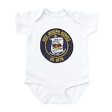 USS JOSEPH HEWES Infant Bodysuit