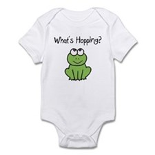 What's Hopping? Cute Frog Baby/Toddler Creeper