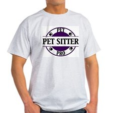 Pet Pro Sitter Ash Grey T-Shirt