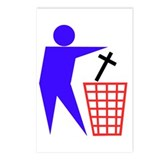 Trash Religion Postcards (Package of 8)