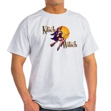 The Kitsch Witsch (broom) T-Shirt