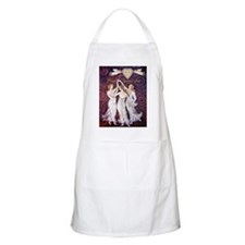 3 Graces with Smiling faces BBQ Apron