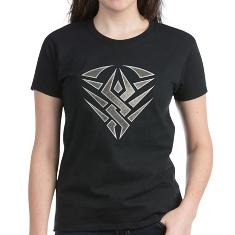 Tribal Badge Women's Dark T-Shirt