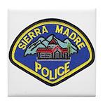 Sierra Madre Police Tile Coaster