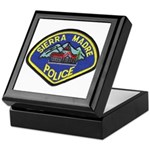 Sierra Madre Police Keepsake Box