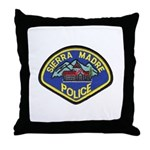 Sierra Madre Police Throw Pillow