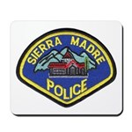 Sierra Madre Police Mousepad