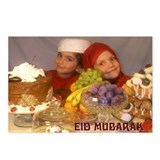 Kid's Eid Mubarak 1 Postcards (Package of 8)
