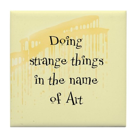 Strange Things Tile Coaster