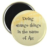 Strange Things Magnet