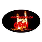 GBMI Oval Sticker