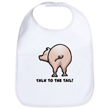 Talk to the Tail Pig Bib
