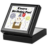 S'more Birthday Fun Keepsake Box