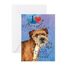 Border Terrier Greeting Cards (Pk of 10)