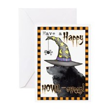 Halloween Schipperke Greeting Card