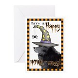 Halloween Schipperke Greeting Cards (Pk of 10)