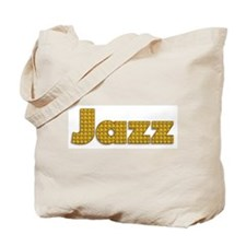 Woven Jazz Tote Bag