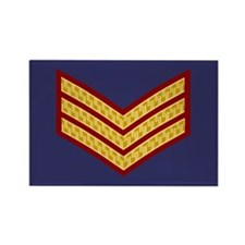 British Sergeant<BR> Rectangle Magnet 2