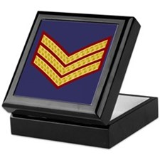 British Sergeant<BR> Tile Insignia Box 2
