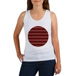 Red Pattern 997 Women's Tank Top
