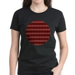 Red Pattern 997 Women's Dark T-Shirt