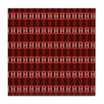 Red Pattern 997 Tile Coaster