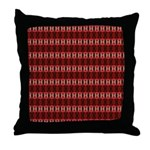 Red Pattern 997 Throw Pillow