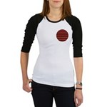 Red Pattern 997 Jr. Raglan