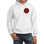 Red Pattern 997 Hooded Sweatshirt