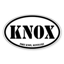 Fort Knox, Kentucky Decal