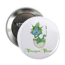 "Dragon Baby 2.25"" Button (100 pack)"