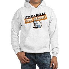 STRESS LEVEL at code orange! Hooded Sweatshirt