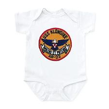 USS KLONDIKE Infant Bodysuit