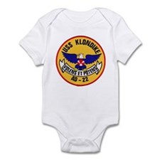 USS KLONDIKE Infant Bodysuit