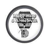 make MINE a HOMEBREW Wall Clock