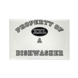 Property of a Dishwasher Rectangle Magnet (10 pack