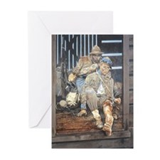 The Chandler Boys Greeting Cards (Pk of 10)