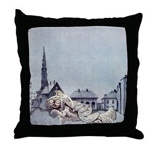 Tinder Box Throw Pillow