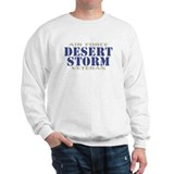 DESERT STORM AIR FORCE VETERAN Sweatshirt