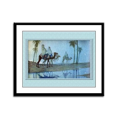 Magi-Winter-12x9 Framed Print