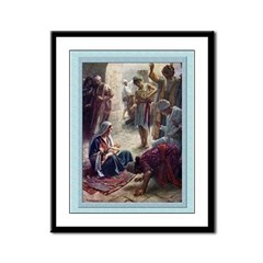 Magi Worship-Copping-9x12 Framed Print
