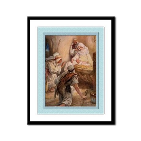 Shepherds Worship-Dixon-9x12 Framed Print