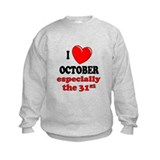 October 31st Sweatshirt