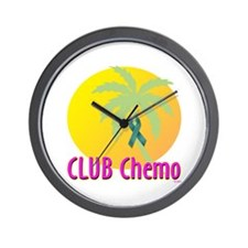Club Chemo-Ovarian Cancer Wall Clock