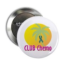 "Club Chemo-Ovarian Cancer 2.25"" Button (10 pack)"