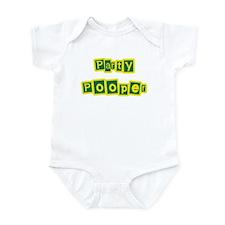 Party Pooper Funny Infant/Baby Bodysuit