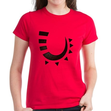 Tribal Hook Women's Dark T-Shirt