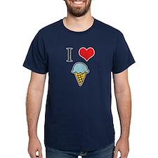I Love (Heart) Ice Cream T-Shirt