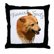 Spitz Dad2 Throw Pillow